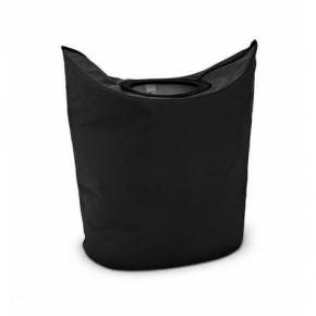 Корзины для белья. Сумка для белья Black чёрный текстиль 101601