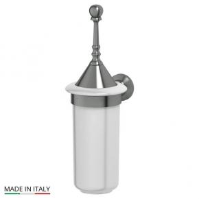 Аксессуары для ванной настенные. Держатель с туалетным ершом с крышкой 3SC STILMAR STI 424