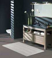 Коврики для ванной комнаты.  ORLANDO Nicol  Хлопковый коврик для ванной комнаты двухсторонний