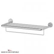 Полки для душа Сетки Полки для ванной стеклянные Полки для полотенец. Полка для полотенец со штангой 60 cm FBS Luxia LUX 042