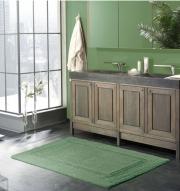 Коврики для ванной комнаты.  Virginia Nicol Хлопковый коврик для ванной комнаты двухсторонний