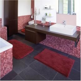 Коврики для ванной на заказ из Германии индивидуального дизайна и размера. Sylt коврик для ванной комнаты Nicol