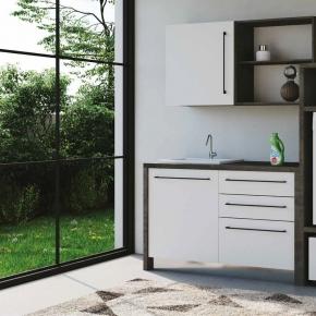 Итальянские постирочные раковины Мебель и оборудование для постирочной комнаты. Colavene Smartop мебель раковина постирочная комната шкаф для встраивания стиральной и сушильной машин