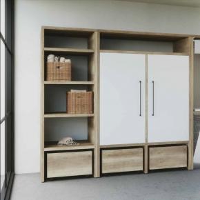 . Colavene Smartop мебель постирочная комната шкаф открытые полки сушилка Smart-DRY