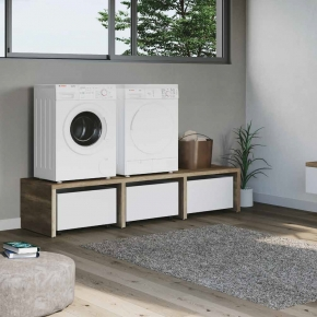 . Colavene Smartop мебель подвесная раковина постирочная комната шкаф открытые полки