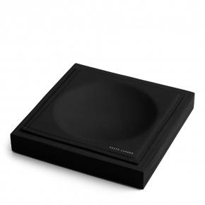 . Ralph Lauren Home BRENNAN BLACK аксессуар настольный кожаный чёрный