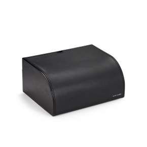 . Ralph Lauren Home BRENNAN BLACK шкатулка настольная кожаная чёрная