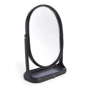 . Ralph Lauren Home BRENNAN BLACK зеркало настольное овальное