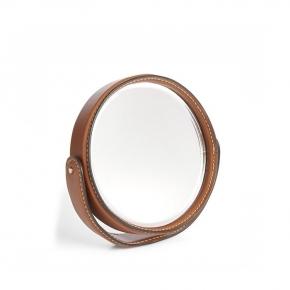 Зеркала косметические с подсветкой увеличением настенные настольные Зеркала с присосками. Ralph Lauren Home BRENNAN SADDLE зеркало настольное