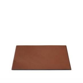 . Ralph Lauren Home BRENNAN SADDLE коричневый планшет для письменного стола кожаный