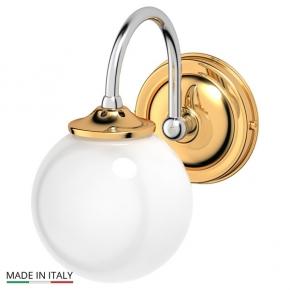 Светильники для ванной комнаты. Светильник хром-золото 40W 3SC STILMAR STI 126