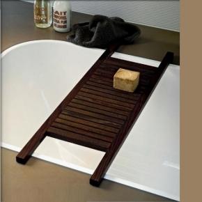 Полки для душа Сетки Полки для ванной стеклянные Полки для полотенец. Полка для ванны Wan Wenge деревянная