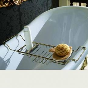 Полки для душа Сетки Полки для ванной стеклянные Полки для полотенец. Полка для ванны бронзовая Versail