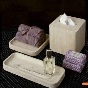 Салфетницы настольные настенные. Аксессуары для ванной из натурального камня Viest салфетница