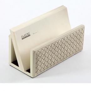 Аксессуары для кабинета Deluxe. Подставка для конвертов Ivory кожаная