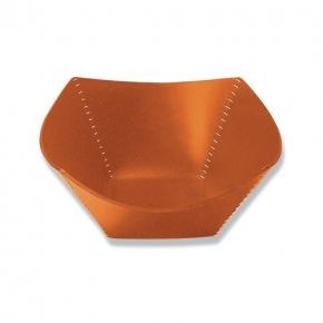 Аксессуары и Мебель для дома. Arte & Cuoio Ebano ваза кожаная с декором цвет