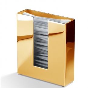 Контейнеры для ватных Дисков Шариков Палочек. Контейнер ёмкость для ватных палочек золотая металл 353 Gold