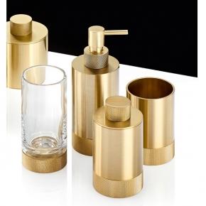 Аксессуары для ванной настольные. Club Decor Walther аксессуары для ванной золото матовое