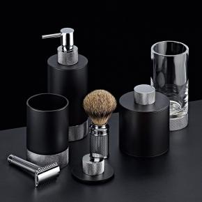 . Club Decor Walther аксессуары для ванной хром с чёрным