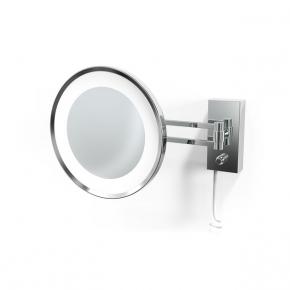 . Decor Walther BS36 хром настенное косметическое зеркало с подсветкой LED и увеличением х5 или х3