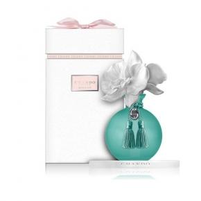 Ароматические свечи Парфюм для дома Диффузоры. Ароматический диффузор Орхидея в голубом от CHANDO Myst Amethyst Love Turquoise ART.CMS412AS