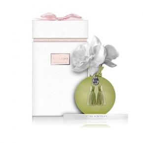Ароматические свечи Парфюм для дома Диффузоры. Ароматический диффузор Орхидея в жёлтом от CHANDO Myst Amethyst Love Green ART.CMS413LG
