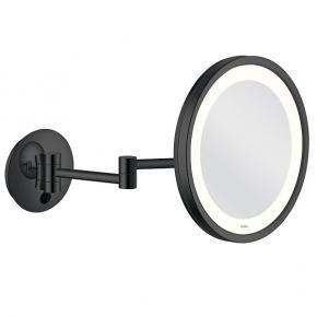 Зеркала косметические с подсветкой увеличением настенные настольные Зеркала с присосками. ALISEO LED CITY LIGHT косметическое зеркало с подсветкой и увеличением х3 настенное Чёрное