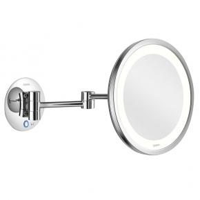 Зеркала косметические с подсветкой увеличением настенные настольные Зеркала с присосками. ALISEO LED SATURN T3 косметическое зеркало с подсветкой и увеличением х3 настенное двухколенный шарнир
