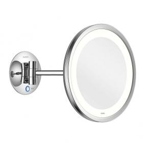 Зеркала косметические с подсветкой увеличением настенные настольные Зеркала с присосками. ALISEO LED SATURN T3 косметическое зеркало с подсветкой и увеличением х3 настенное