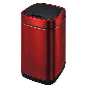 Сенсорные вёдра и баки для мусора. EKO сенсорное ведро для мусора Бургундия 21 и 28 литров