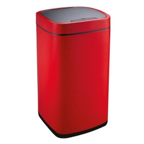 Сенсорные вёдра и баки для мусора. EKO сенсорное ведро для мусора Красное 40 и 28 литров