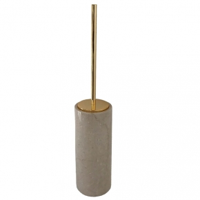 Ёршики для унитаза напольные и настенные. Elegance Gold Botticino мраморный ёршик для унитаза Золото