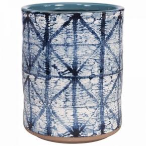 . Керамическое ведро универсальное Creative Bath Shibori