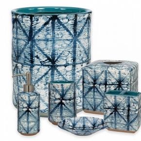 . Керамические аксессуары для ванной настольные Creative Bath Shibori