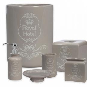 . Керамические аксессуары для ванной настольные Creative Bath Royal Hotel