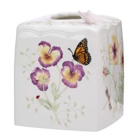 . LENOX Салфетница керамическая Бабочки на лугу