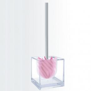 Ёршики для унитаза напольные и настенные.  Ёршик для унитаза напольный силиконовый необычный Waterclou Cubo Nicol куб