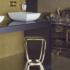 Банкетки для ванной Пуфы Интерьерные Табуреты для ванной и душа Откидные сиденья. Gessi MIMI табурет для ванной золотой GOLD