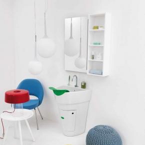 Итальянские постирочные раковины Мебель и оборудование для постирочной комнаты.  Постирочная раковина итальянская POT COLAVENE гарнитур