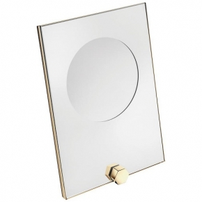 . Mirage Gold косметическое зеркало с увеличением х3 золотое PomdOr