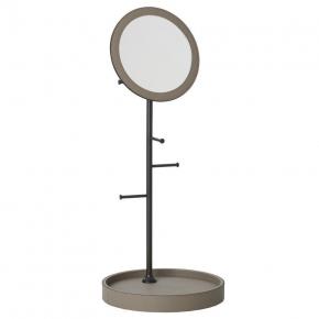 Зеркала косметические с подсветкой увеличением настенные настольные Зеркала с присосками. Arborea настольное зеркало с лотком и держателями Бронза GioBagnara
