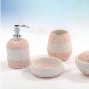 Аксессуары для ванной настольные.  Аксессуары для ванной Estate Marmores настольные керамические