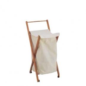 Корзины для белья. Мебель для постирочной комнаты деревянная корзина для белья складная