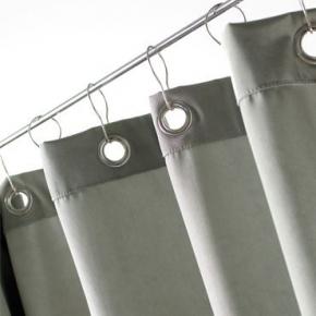 Шторки для душа и ванны текстильные. Текстильные шторки для ванны и душа