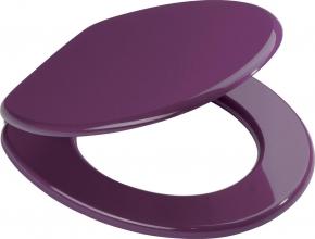 Сиденья для унитаза с крышкой. Aruba лиловое сиденье с крышкой для унитаза