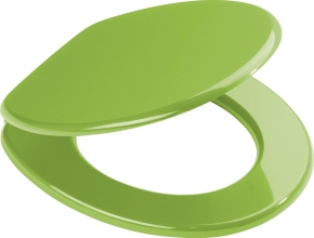 Сиденья для унитаза с крышкой. Aruba зелёное сиденье с крышкой для унитаза
