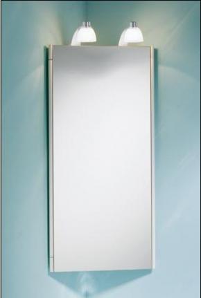 Зеркальные шкафчики Аптечки. Keuco зеркальный шкафчик угловой ATLANTA