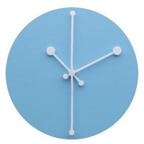 Часы. Часы настенные Dotty голубые