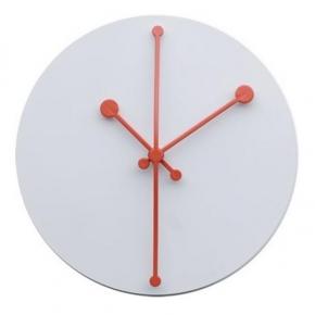 Часы. Часы настенные Dotty белые