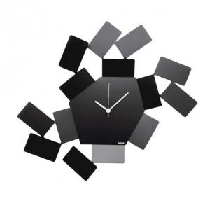 Часы. Часы настенные Stanza Scirocco черные